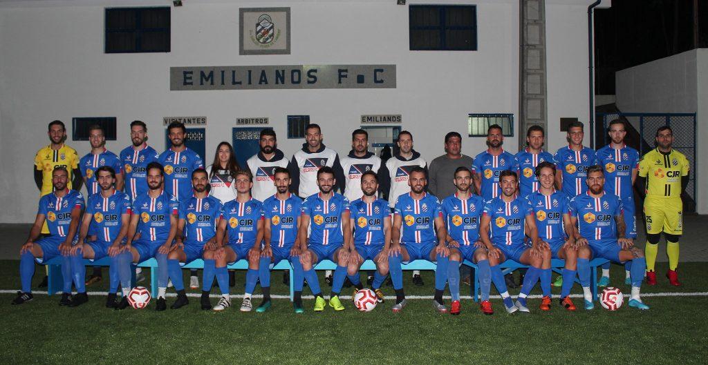 equipa futebol epoca 2019 emilianos futebol club