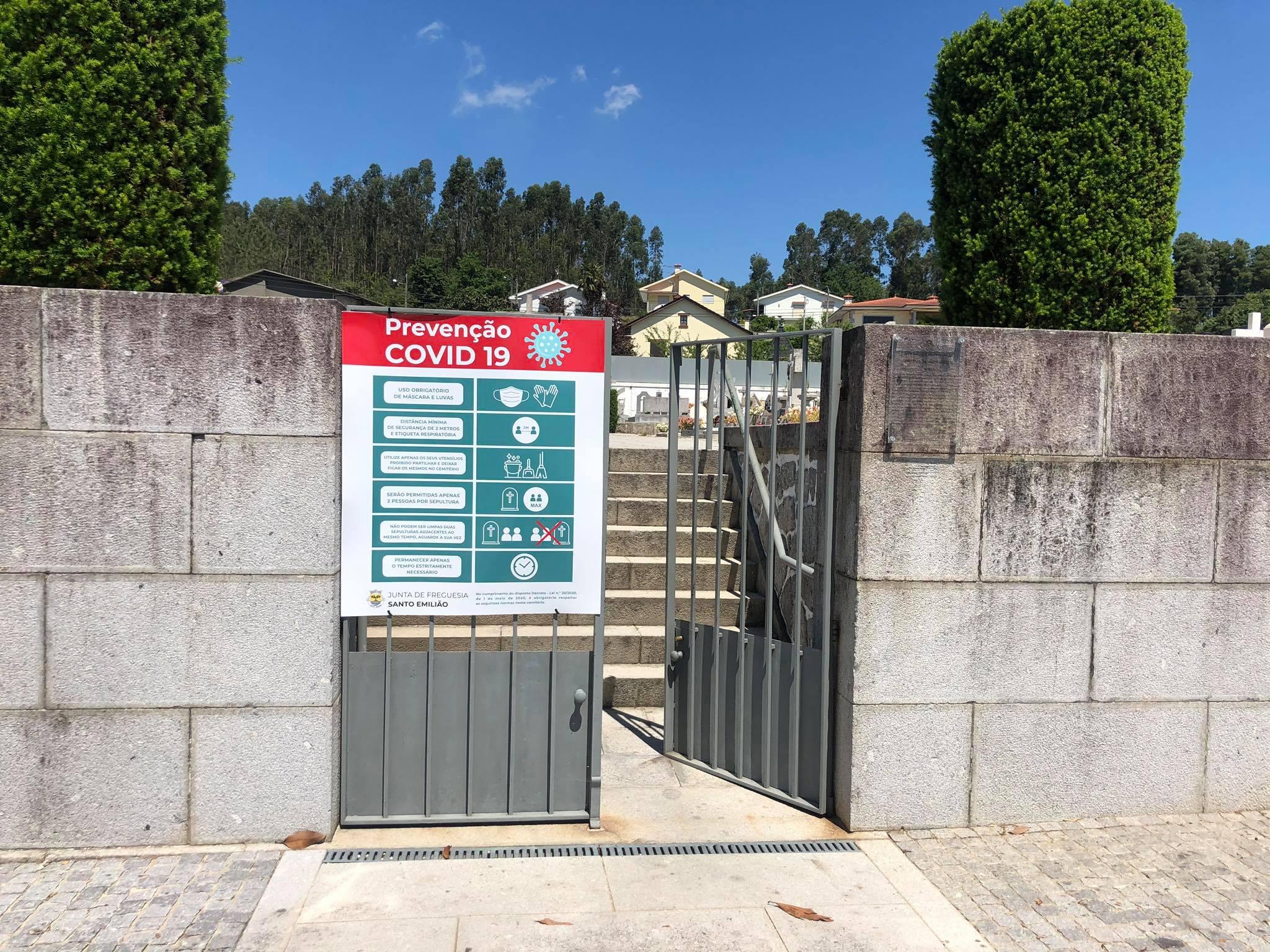 Reabertura Cemiterio Santo Emiliao